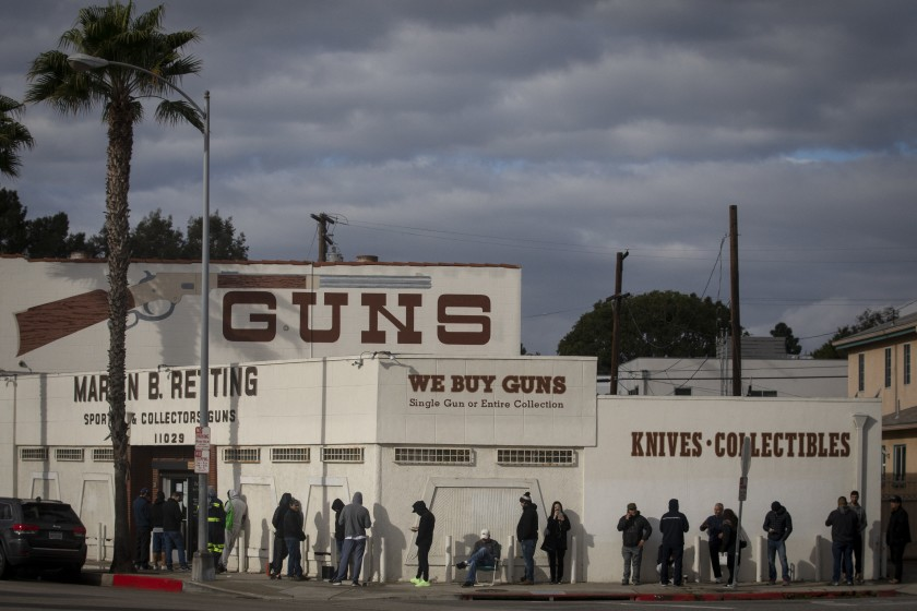 Guns corona