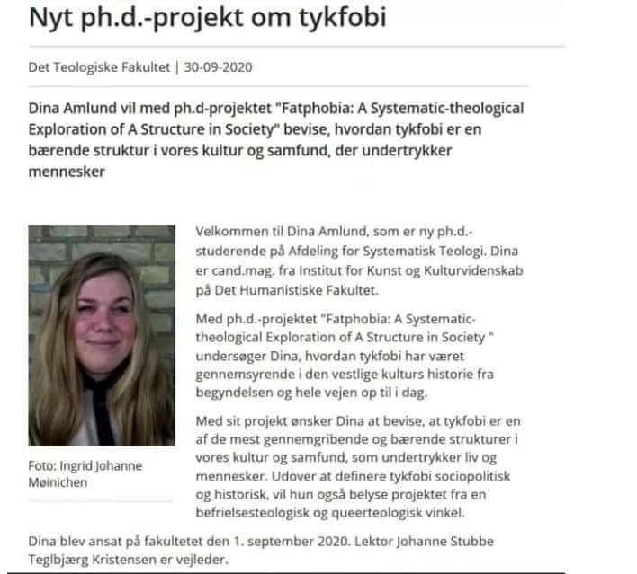 Tykfobi ph.d