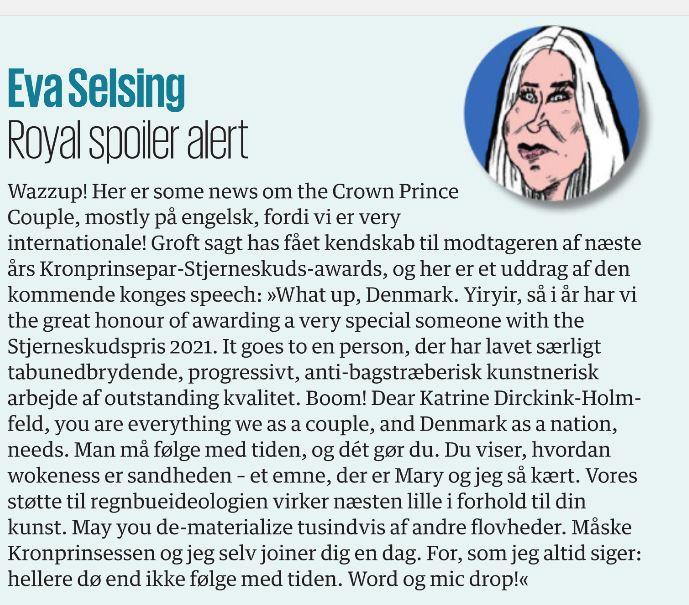 Kronprinsparrets priser