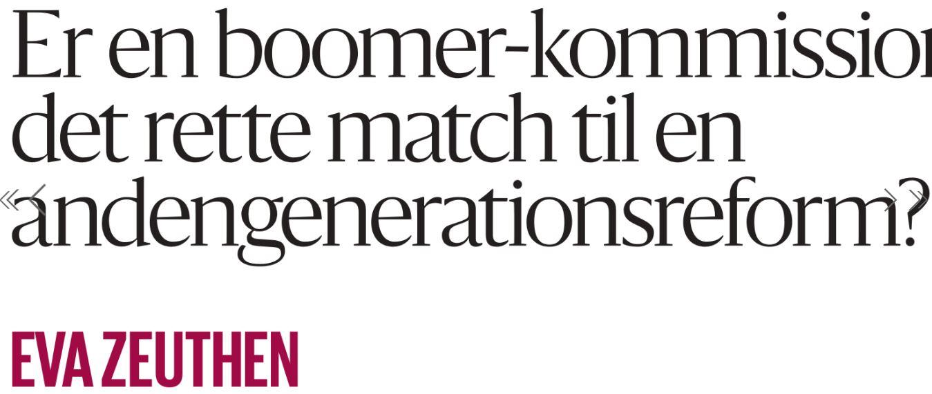 Zeuthen Boomer-kommission
