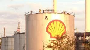 Shell raffinaderi