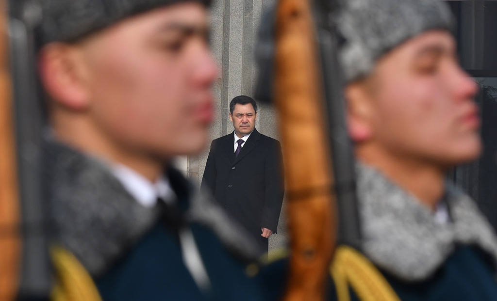 Sadyr Japarov Kirgisistan