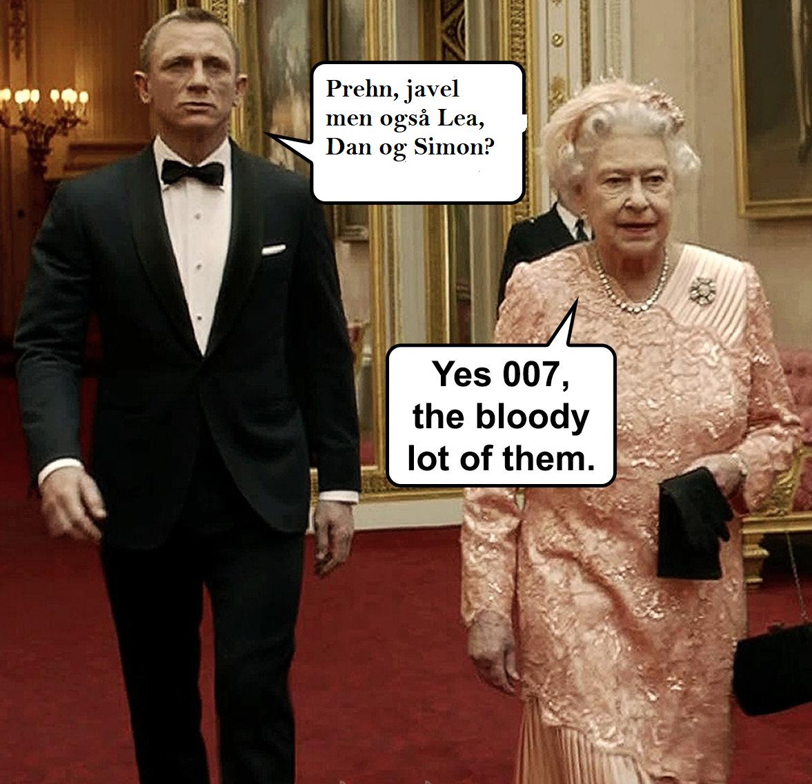 James Bond Prehn m.fl.