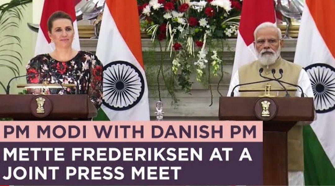 Indien Modi Frederiksen